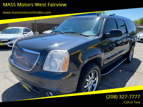 2008 GMC Yukon XL for sale at M.A.S.S. Motors - West Fairview in Boise ID
