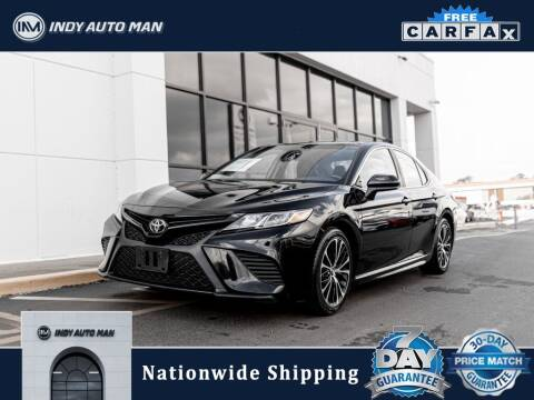 2018 Toyota Camry for sale at INDY AUTO MAN in Indianapolis IN