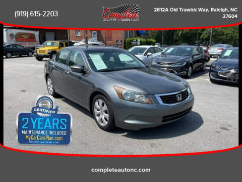 2010 Honda Accord for sale at Complete Auto Center , Inc in Raleigh NC