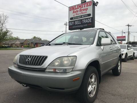 2000 Lexus RX 300 for sale at Unlimited Auto Group in West Chester OH