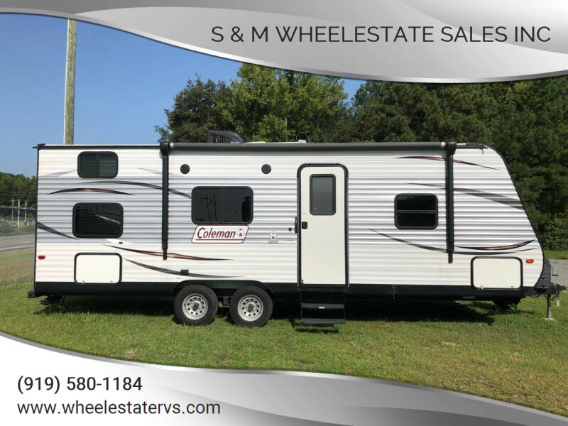 2016 Coleman Lantern 274BHS for sale at S & M WHEELESTATE SALES INC - Camper in Princeton NC