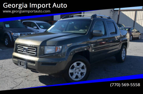 2006 Honda Ridgeline for sale at Georgia Import Auto in Alpharetta GA