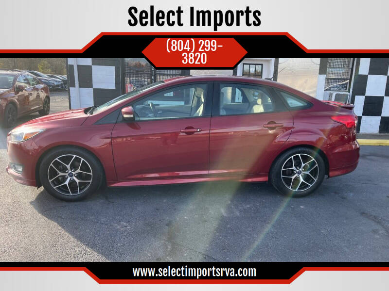 2016 Ford Focus for sale at Select Imports in Ashland VA