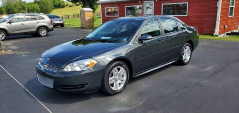 2016 Chevrolet Impala Limited for sale at Gallia Auto Sales in Bidwell OH
