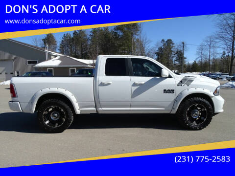 2015 RAM Ram Pickup 1500 for sale at DON'S ADOPT A CAR in Cadillac MI