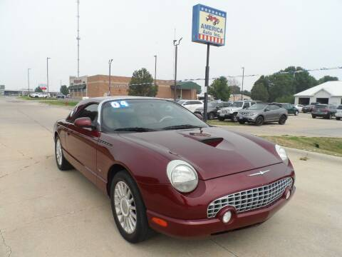 2004 Ford Thunderbird for sale at America Auto Inc in South Sioux City NE