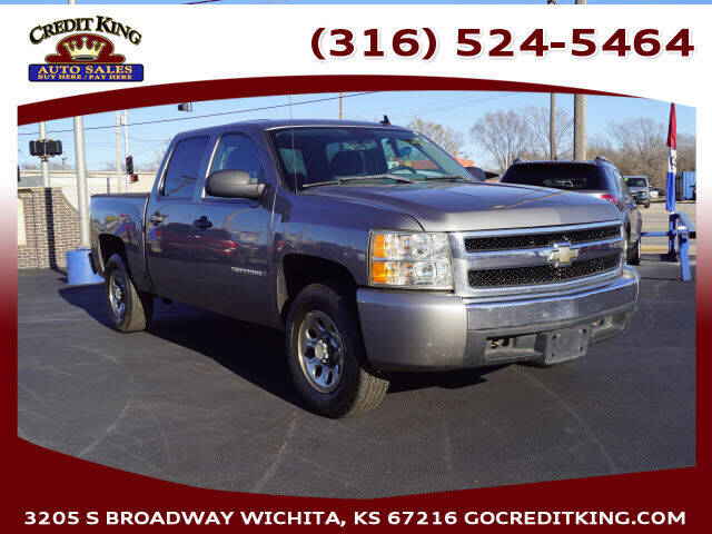 2007 Chevrolet Silverado 1500 for sale at Credit King Auto Sales in Wichita KS