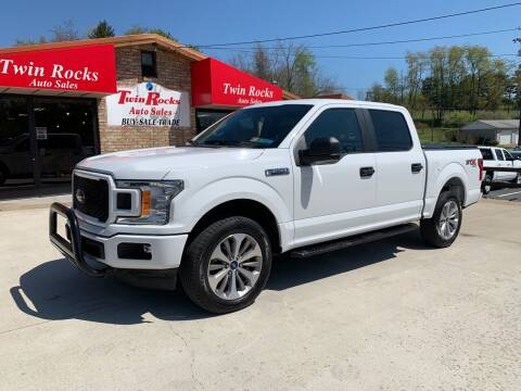 2018 Ford F-150 for sale at Twin Rocks Auto Sales LLC in Uniontown PA