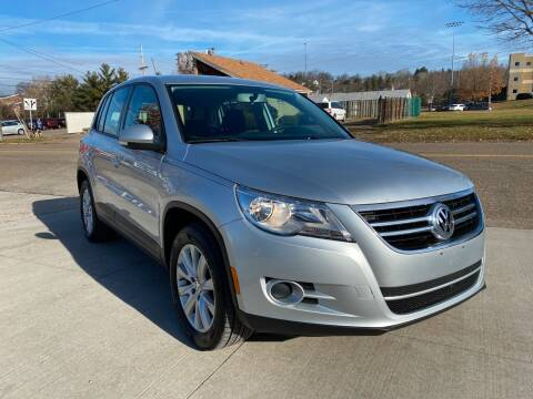 2010 Volkswagen Tiguan for sale at Dalton George Automotive in Marietta OH