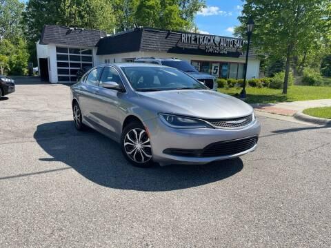 2016 Chrysler 200 for sale at Rite Track Auto Sales in Canton MI
