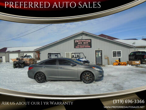 2011 Hyundai Sonata for sale at PREFERRED AUTO SALES in Lockridge IA