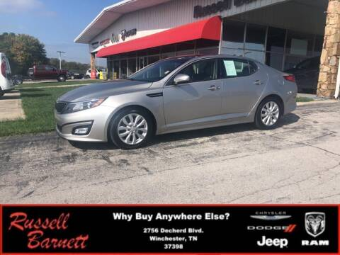 2014 Kia Optima for sale at Russell Barnett Chrysler Dodge Jeep Ram in Winchester TN