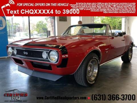 1967 Chevrolet Camaro for sale at CERTIFIED HEADQUARTERS in Saint James NY
