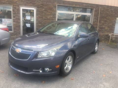 2013 Chevrolet Cruze for sale at K B Motors in Clearfield PA
