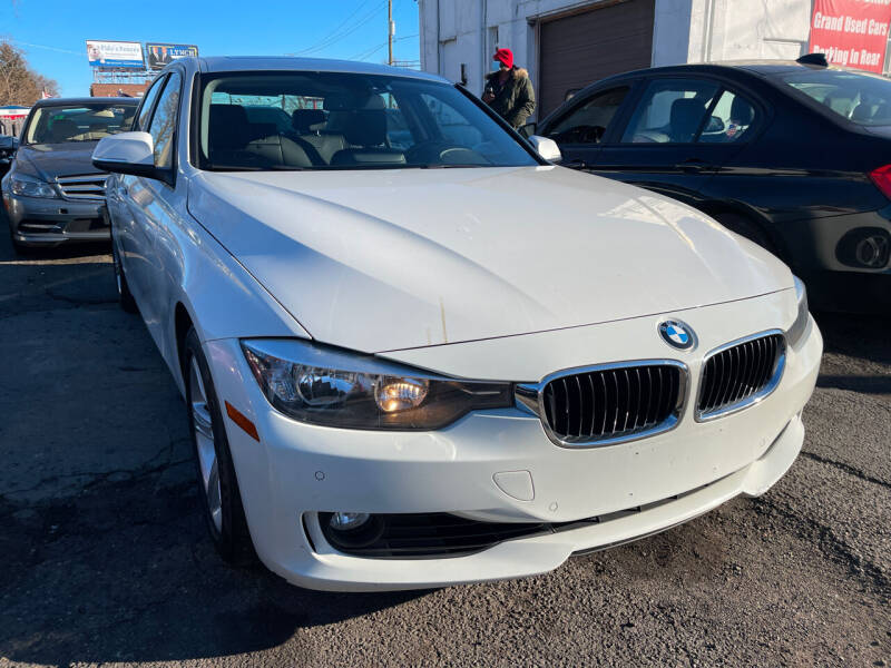 2014 BMW 3 Series for sale at GRAND USED CARS  INC in Little Ferry NJ