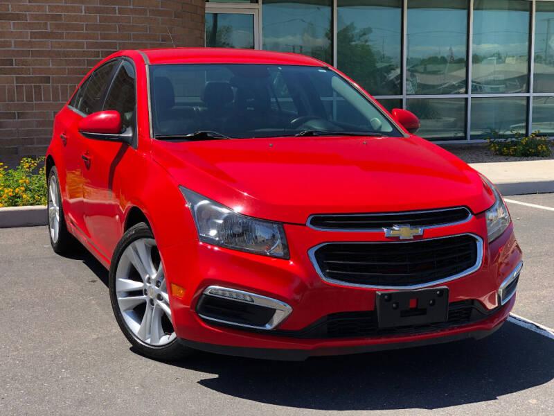 2015 Chevrolet Cruze for sale at AKOI Motors in Tempe AZ