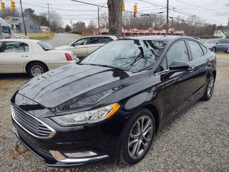 2017 Ford Fusion for sale at Ray Moore Auto Sales in Graham NC