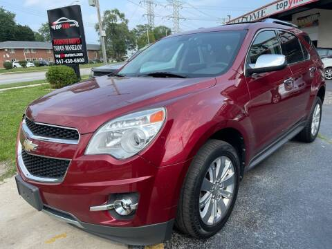 2010 Chevrolet Equinox for sale at TOP YIN MOTORS in Mount Prospect IL