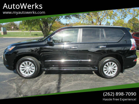2017 Lexus GX 460 for sale at AutoWerks in Sturtevant WI