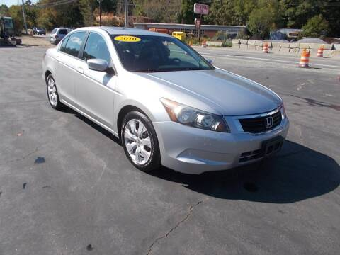 2010 Honda Accord for sale at MATTESON MOTORS in Raynham MA