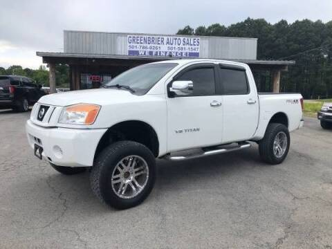 2009 Nissan Titan for sale at Greenbrier Auto Sales in Greenbrier AR