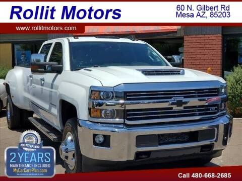 2019 Chevrolet Silverado 3500HD for sale at Rollit Motors in Mesa AZ