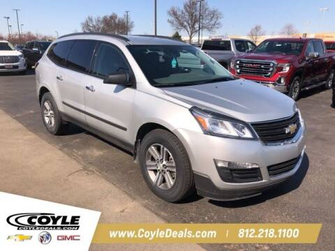2017 Chevrolet Traverse for sale at COYLE GM - COYLE NISSAN - New Inventory in Clarksville IN