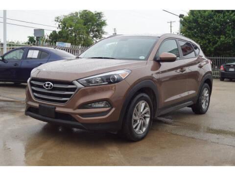 2016 Hyundai Tucson for sale at Credit Connection Sales in Fort Worth TX