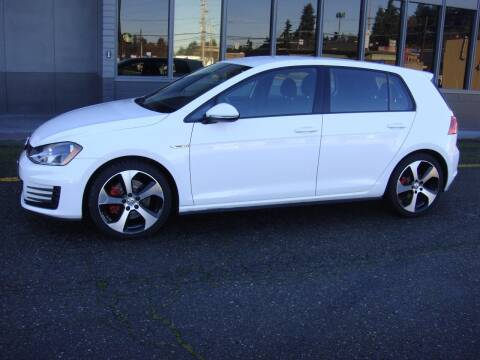 2017 Volkswagen Golf GTI for sale at Western Auto Brokers in Lynnwood WA
