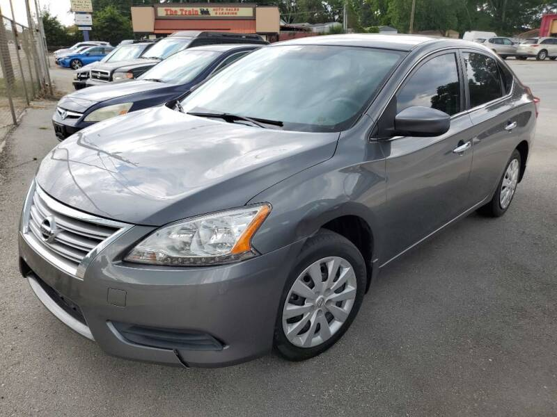 2015 Nissan Sentra for sale at THE TRAIN AUTO SALES & RENTALS in Taylors SC