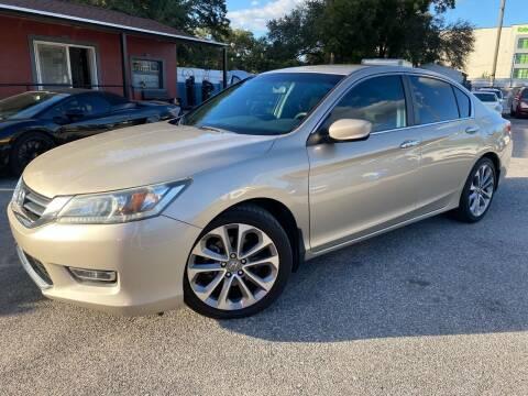 2013 Honda Accord for sale at CHECK  AUTO INC. in Tampa FL