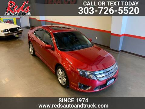 2011 Ford Fusion for sale at Red's Auto and Truck in Longmont CO