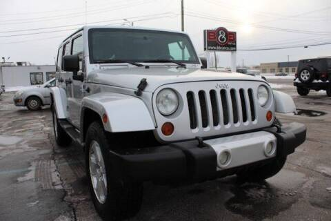 2008 Jeep Wrangler Unlimited for sale at B & B Car Co Inc. in Clinton Twp MI