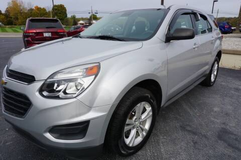2016 Chevrolet Equinox for sale at MyEzAutoBroker.com in Mount Vernon OH