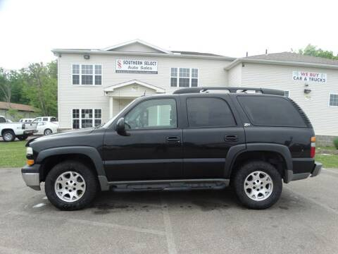 2004 Chevrolet Tahoe for sale at SOUTHERN SELECT AUTO SALES in Medina OH