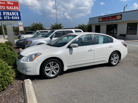 2012 Nissan Altima for sale at YOUR WAY AUTO SALES INC in Greensboro NC