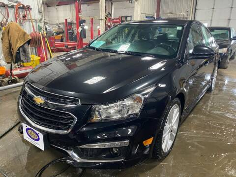 2015 Chevrolet Cruze for sale at BERG AUTO MALL & TRUCKING INC in Beresford SD