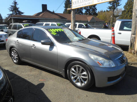 2009 Infiniti G37 Sedan for sale at Lino's Autos Inc in Vancouver WA