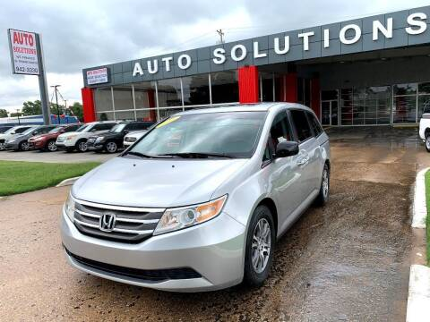 2011 Honda Odyssey for sale at Auto Solutions in Warr Acres OK