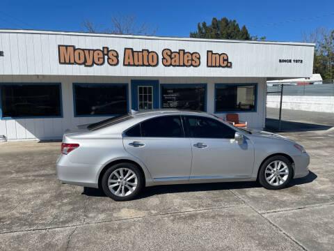 2010 Lexus ES 350 for sale at Moye's Auto Sales Inc. in Leesburg FL