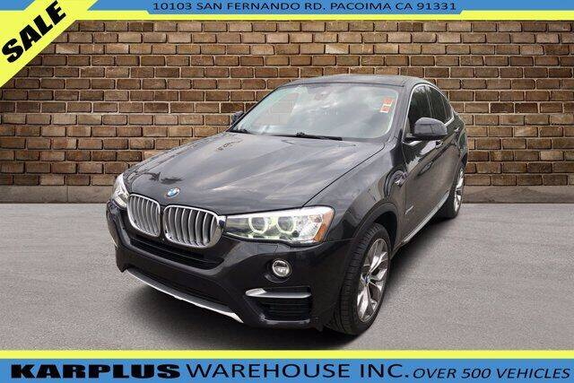 2017 BMW X4 for sale at Karplus Warehouse in Pacoima CA