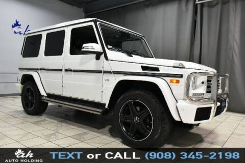 2017 Mercedes-Benz G-Class for sale at AUTO HOLDING in Hillside NJ