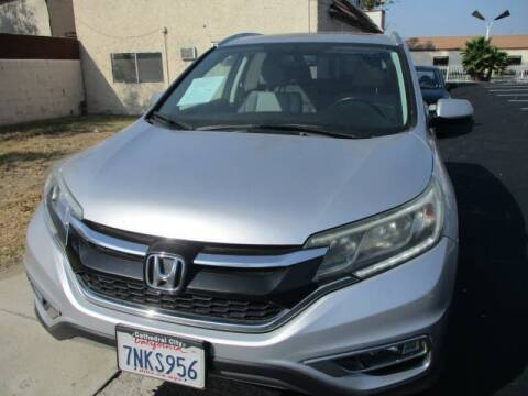 2015 Honda CR-V for sale at F & A Car Sales Inc in Ontario CA