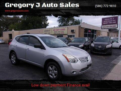 2009 Nissan Rogue for sale at Gregory J Auto Sales in Roseville MI