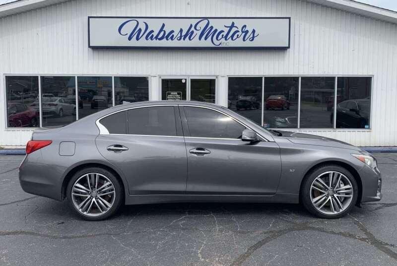 2014 Infiniti Q50 for sale at Wabash Motors in Terre Haute IN