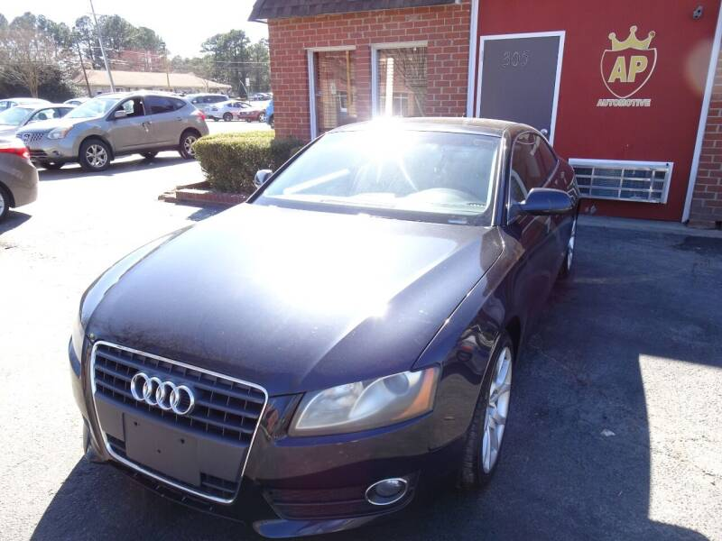 2012 Audi A5 for sale at AP Automotive in Cary NC