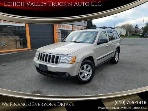 2008 Jeep Grand Cherokee for sale at Lehigh Valley Truck n Auto LLC. in Schnecksville PA