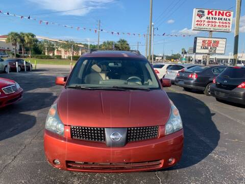 2004 Nissan Quest for sale at King Auto Deals in Longwood FL