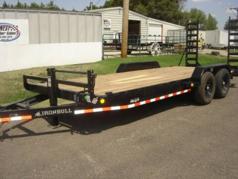 2022 83 X 20 IRON BULL HD EQUIPMENT HAULER for sale at Midwest Trailer Sales & Service in Agra KS