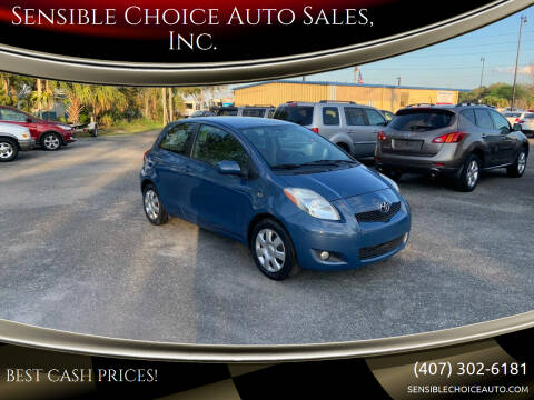 2010 Toyota Yaris for sale at Sensible Choice Auto Sales, Inc. in Longwood FL
